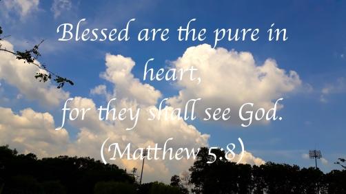 matthew 5:8