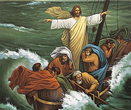 Jesus stills the tempest