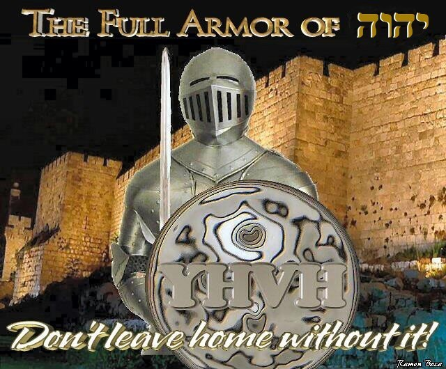 armor of god. The watchman could not sleep