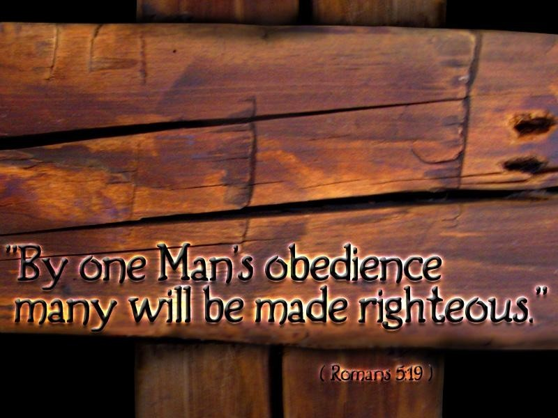 Obedience on the cross
