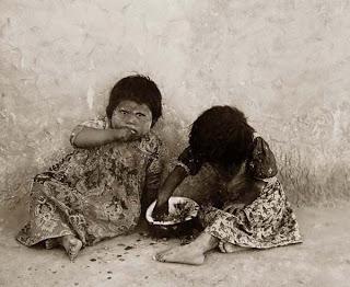 poor indian children