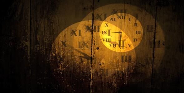 clock face semi transparent