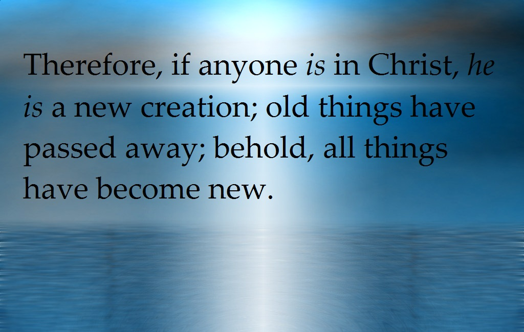 new creation in Christ