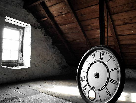 clock face stand still