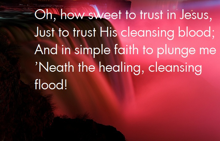 healing in His blood
