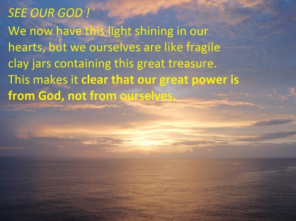 God's power in us