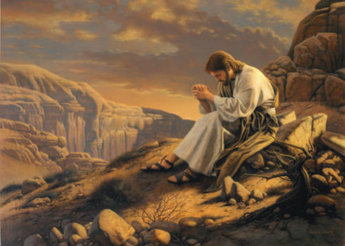 the power of prayer by Jesus