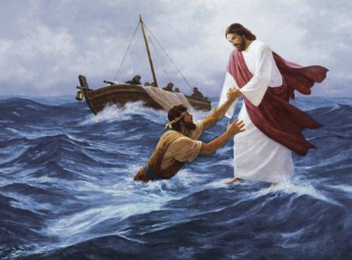 walk on water in Jesus' name