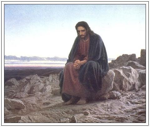 like Jesus - watchman and pray