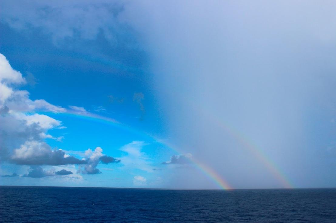 Rainbow over Sky