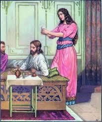 woman anointing Jesus