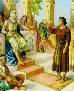 Joseph saves Egypt from famine