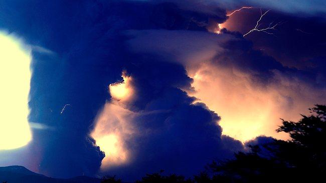 tornado lightning and fire