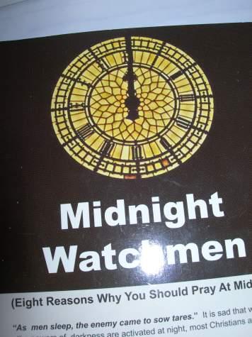 watchman at midnight