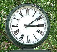 3am clock face