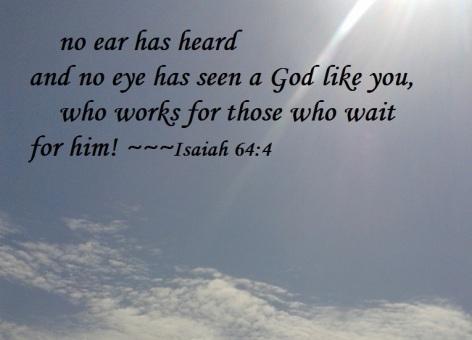 Isaiah 64-4