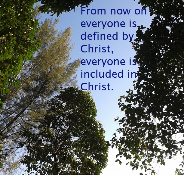20150517 defined by Christ