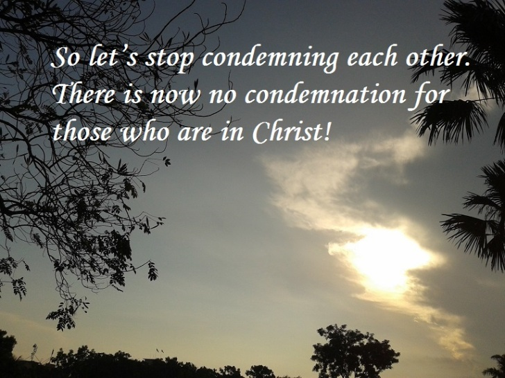 no condemnation