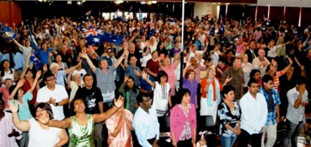 christians pray for Australia