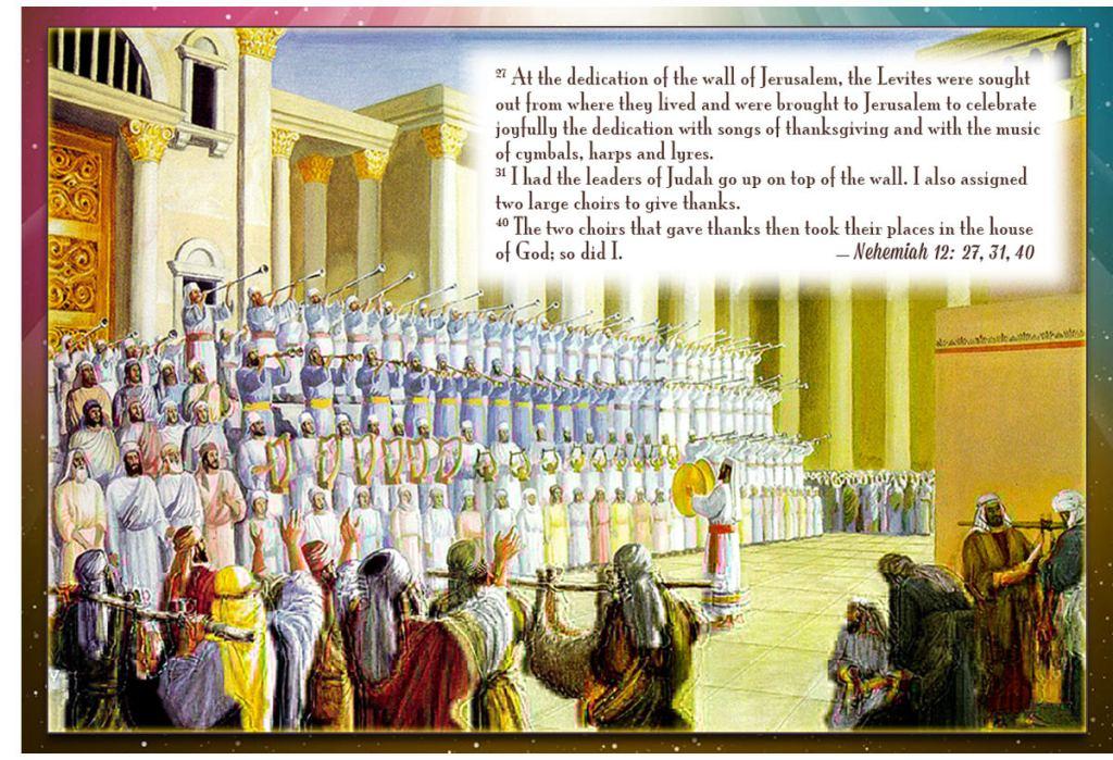 nehemiah 12 praise singers