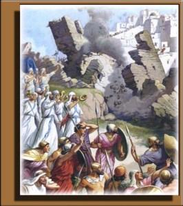 Joshua 6 Jericho march