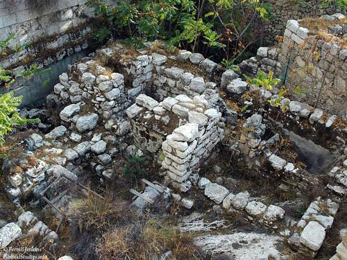 Jerusalem horse gate remains