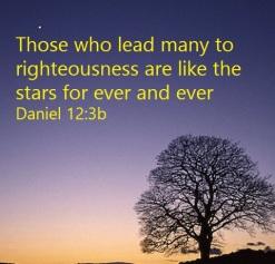 Daniel 12-3b like stars