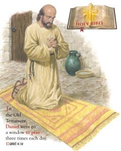 Daniel prayed