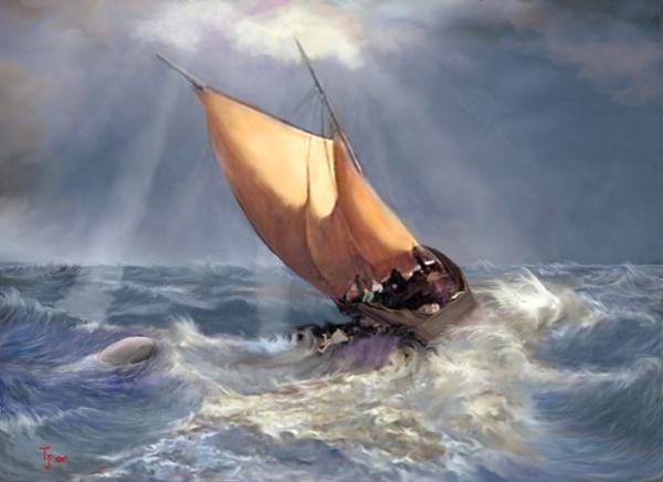 Jonah's storm