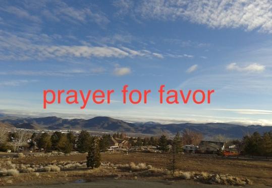 prayer for favor
