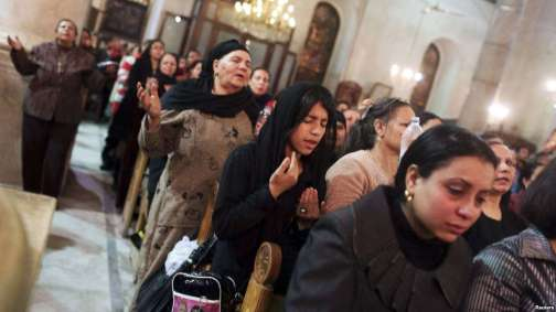 coptic Christians pray