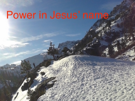 power in Jesus' name