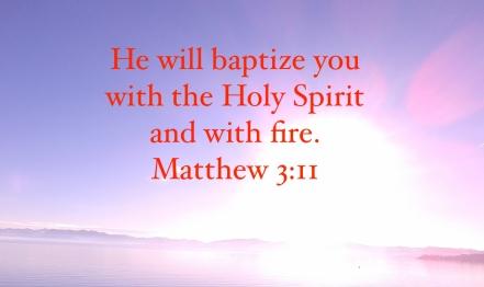 baptized with Holy Spirit