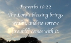 Bible verses Proverbs 10:22