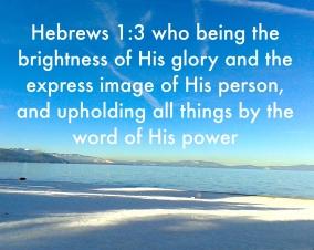 Hebrews 1>3
