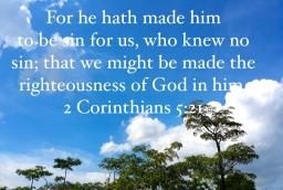 Bible verse 2 Co 5:21