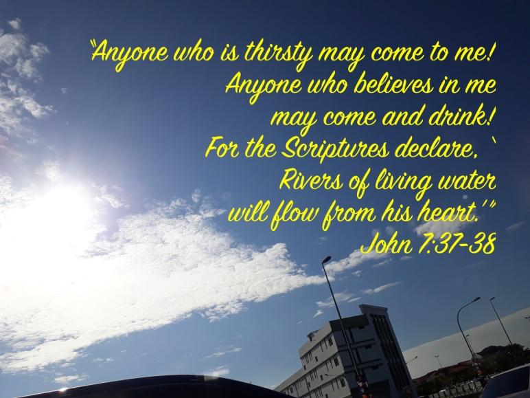 John 7:3738