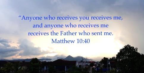 Matthew 10:40