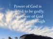 power of God's words