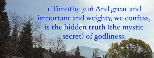 1 Timothy 3:16
