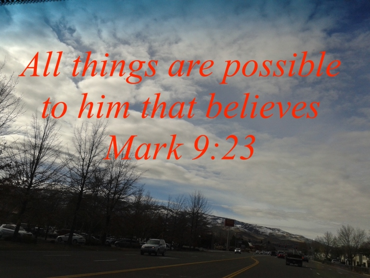 Mark 9:23