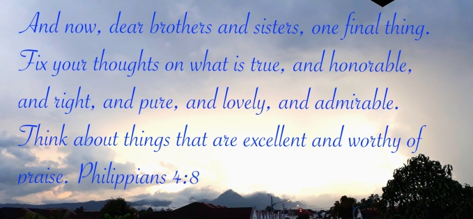 Philippians 4:8