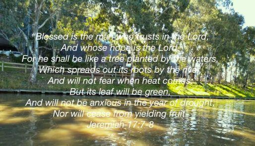 Jeremiah 17:7-8
