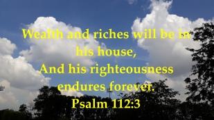psalm 112:3