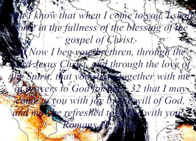 Romans 15:29-32