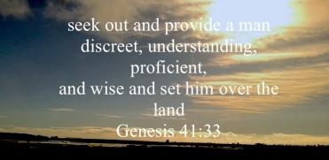 Genesis 41:33