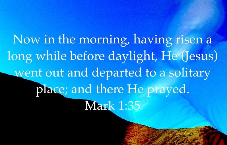 Mark 1:35
