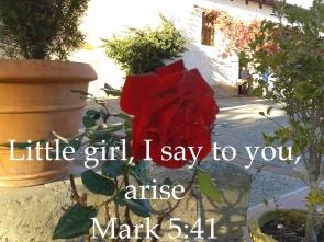 Mark 5:41