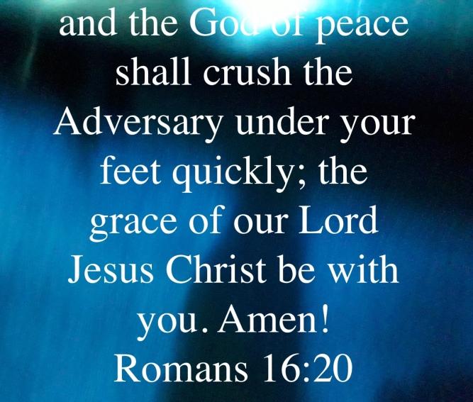 romans 16:20
