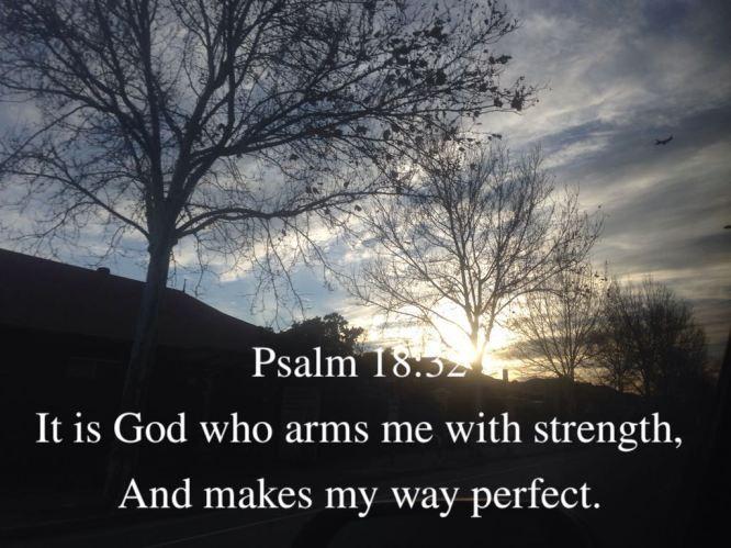 psalm 18:32